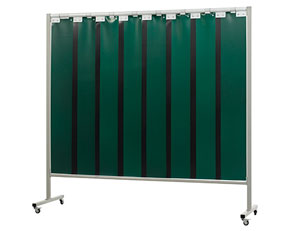 Сварочный экран OMNIUM шириной 215 см. с полосами