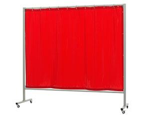 Сварочный экран OMNIUM шириной 215 см. с шторкой